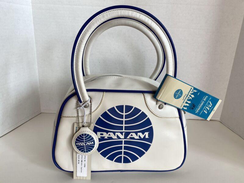 "PAN AM ""Mini Explorer"" Bag Originals Certified Vintage Style Pan Am White"