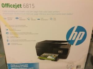 HP OfficeJet 6815 Colour Printer *SEALED*