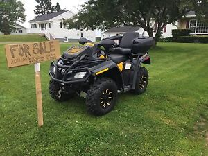 2010 can am outlander xtp 3300km