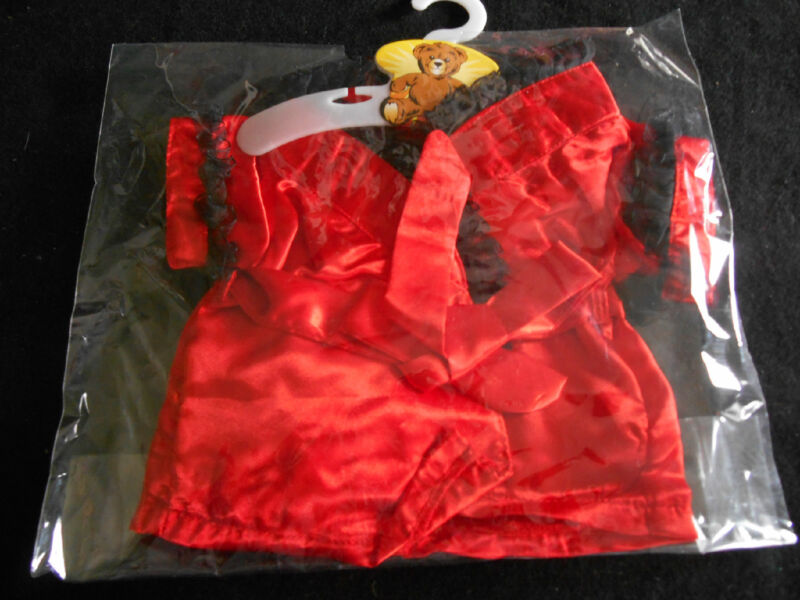 Sexy Red Robe for Build-a-Bear /All American Girl Dolls