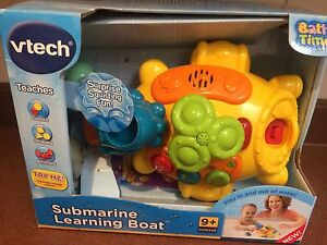 Vtech Submarine Learning Boat