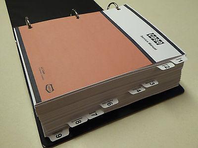 Case 1835b Uni-loader Skid Steer Service Manual Repair Shop Book New With Binder