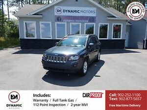 2014 Jeep Compass Sport/North 4x4! NEW TIRES! WARRANTY!