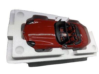 Kyosho 1/18 Scale Diecast - 08511R BMW Z8 Roadster - Red Model car
