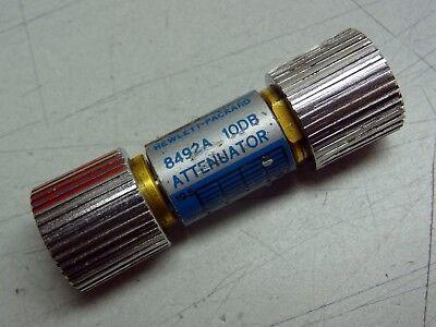 Hp Hewlett Packard Agilent 8492a Attenuator 10db