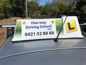 Manual and automatic driving lessons all over the Sydney West