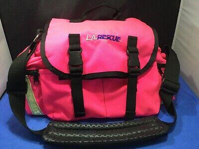 Unused 18 Pink La Rescue Emtemsfirst Responder Bag W Shoulder Strap  Kp