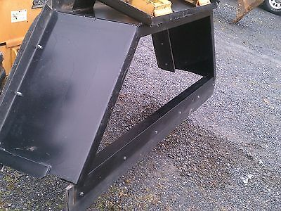 New 8 96 Skid Steer Loader Manure Box Blade Scrapersnow Pusher Tractor Bobcat