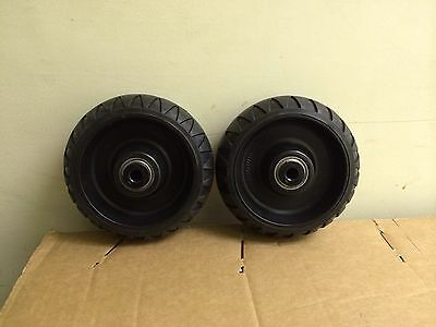 2 Stryker Stretcher Cot Wheels Set Ems All Models Including Mx Ez Lx Dx Bari