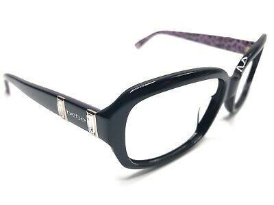 Bebe BB7080 Women's Sunglass Frames FINEST 001 Jet Black/Purple 57-17mm (Finest Sunglasses)