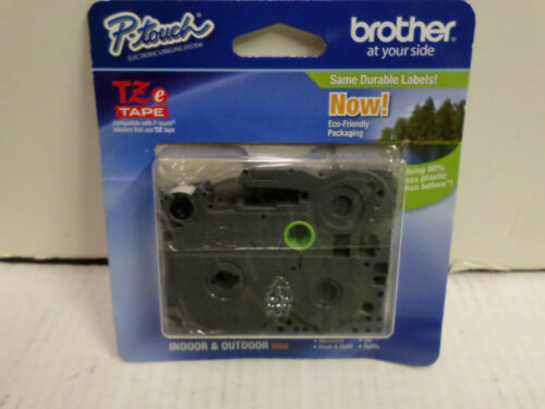 """Brother 0.47""""x 26.2' Black on White Tape for P-Touch TZE-231"""