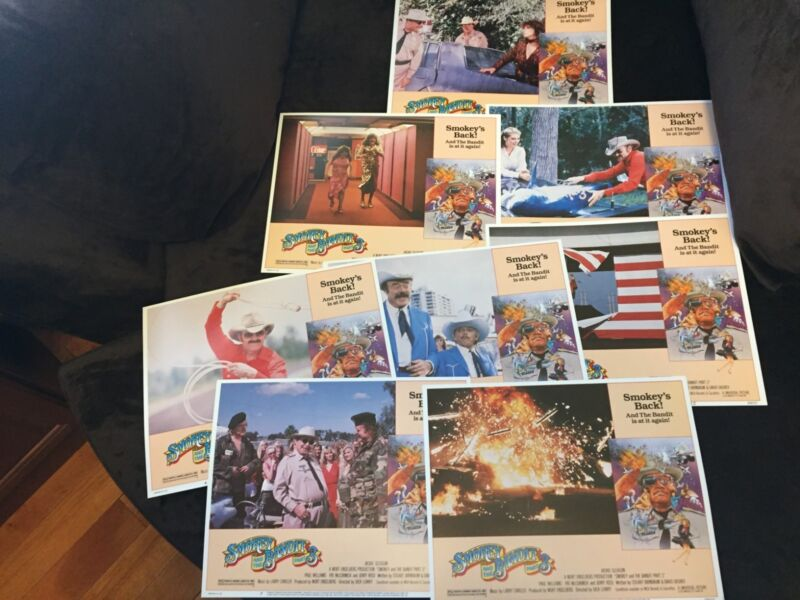 SMOKEY AND THE BANDIT PART 3 Lobby Cards