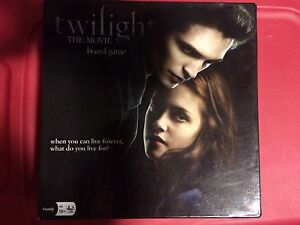 The Twilight Movie Trivia Board Game