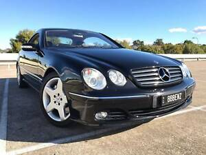 V12 Mercedes-Benz CL600 Coupe