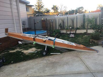 Canoe timber