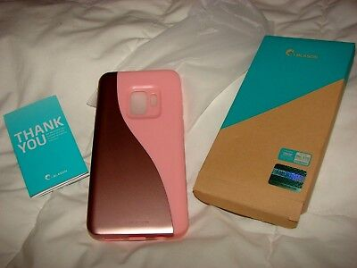 i-BLASON GALAXY-S9-LUNA SLIM FIT PHONE CASE ROSE GOLD NIB SU