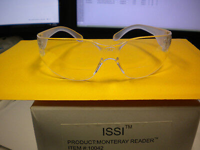 Monteray Reader 2.00 Clear Safety Glassesclear Temples Lot Of 2 10042