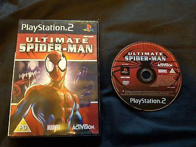 ULTIMATE SPIDER-MAN Sony Playstation 2 Game PS2 comprar usado  Enviando para Brazil