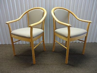 Pair Of Alcove Guest Chairsside Chairs By Steelcase Brown Fabric Slightly Use