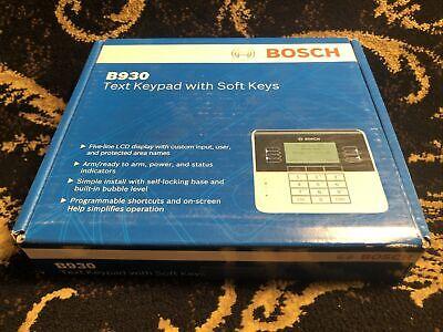 Bosch B930 Security Text Keypad With Soft Keys