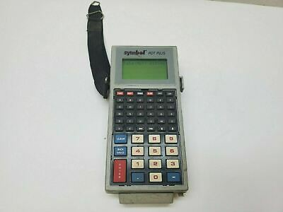 Symbol Portable Data Terminal Pdt Plus Model 1510 54990-44-31