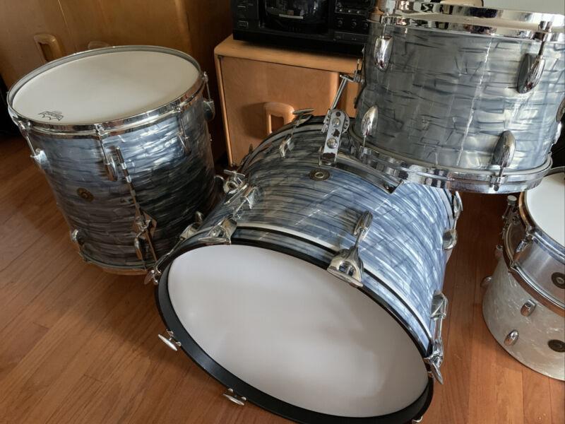 Vintage Gretsch SBP Drum kit 20,16,12 round badge Jaspers