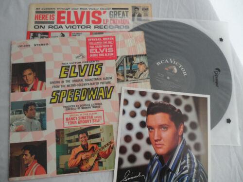 ELVIS Original__1968__1st PRESS__SPEEDWAY LP__SHRINK__BONUS PHOTO__EX+