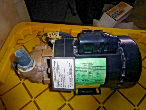 Scot Pump  J15  PUMP X42614  115/230V 60/50HZ 1/3HP, IGNITION PROTECTED