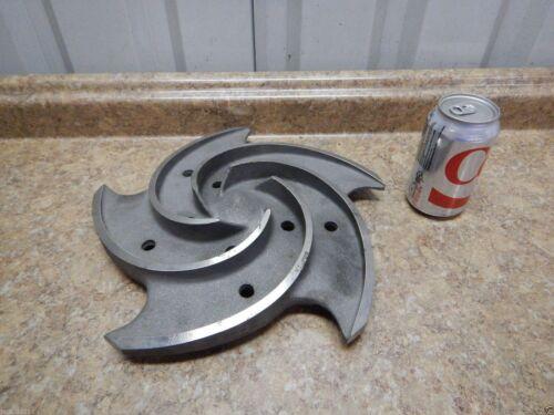 "NEW Goulds Pump Impeller 13"" Diameter 5 Vane 3196 LTX Process Pump Titanium NEW"