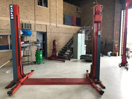 WORKSHOP HOISTS - AND EQUIPMENT  FOR SALE Albion Brisbane North East Preview