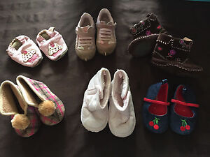 Baby girl shoes Lot