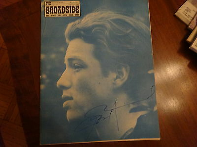 SIGNED JOHN HAMMOND BROADSIDE MAY 1967 BLUES SINGER