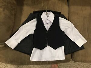 18Month Baby Suit Jacket, Vest & Dress Shirt