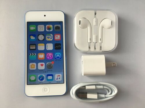 Apple iPod touch® 64GB MP3 Player (6th Generation Latest Model) Blue MKHE2LL/A