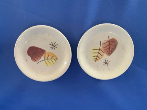 2 Vernon Ware SHERWOOD butter pats FREE POSTAGE