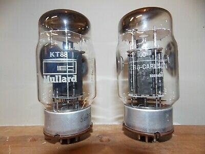 Mullard old stock KT88 6550 vacuum tubes matched & guaranteed