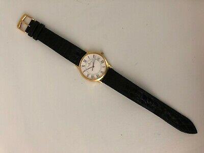 Baume & Mercier 18K Solid Gold Swiss Quartz Watch MVO45077