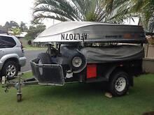 Off Road Camper Trailer + Boat, motor & folding boat trailer East Ballina Ballina Area Preview