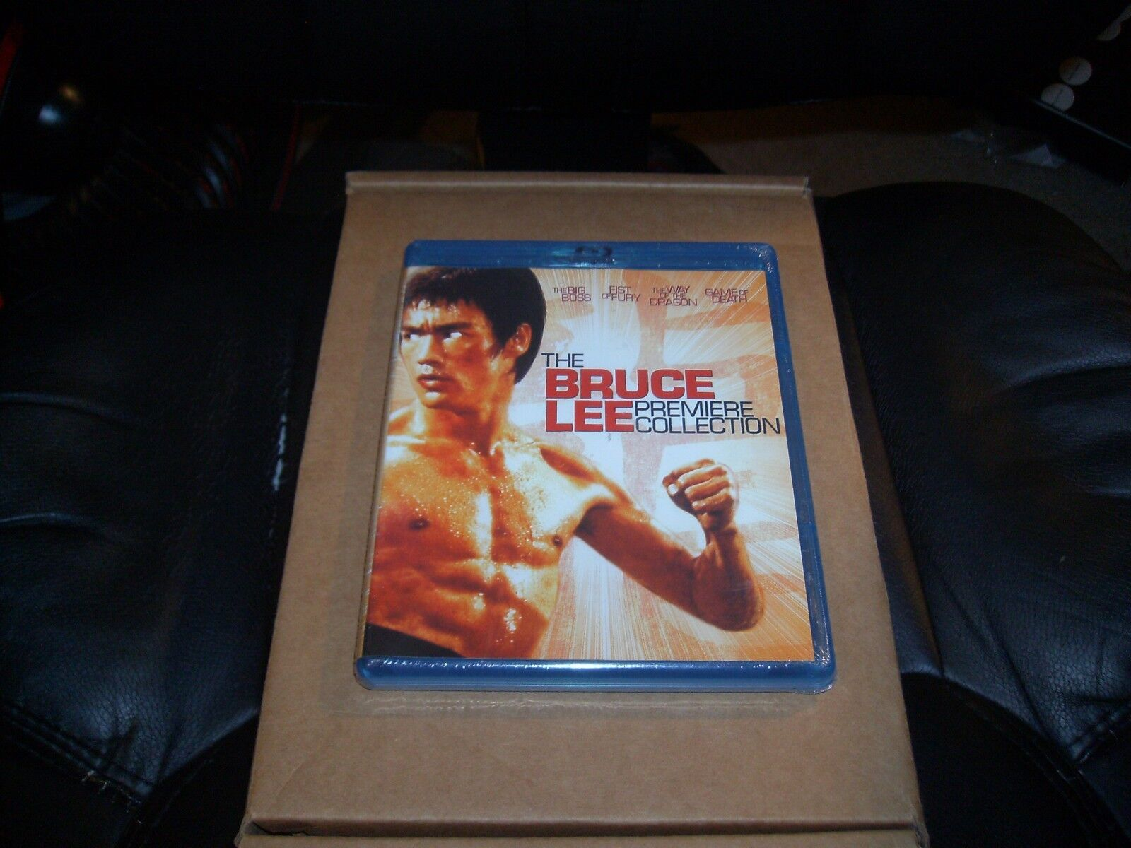 Bruce Lee: Premiere Collection (Blu-ray Disc, 2014, 4-Disc Set)