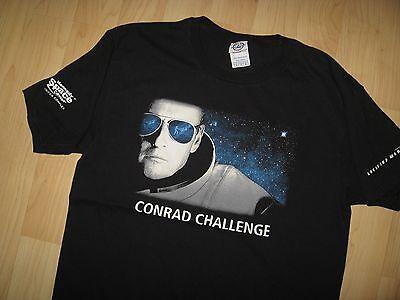 Charles Pete Conrad Challenge Tee   Nasa Astronaut Lockheed Martin T Shirt Med