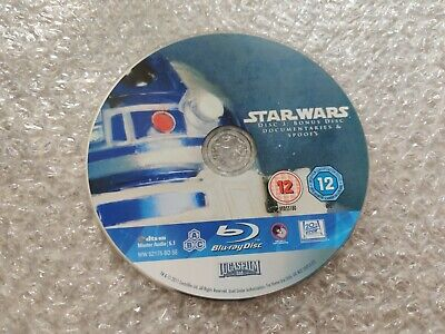 Star Wars Saga: Bonus Disc 3 (Blu-ray) *Disc Only*