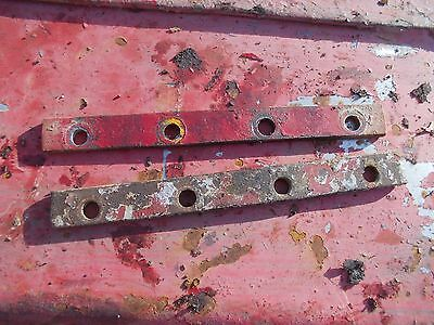 Farmall Cub Tractor Original Ih Radiator Front Rear Bottom Main Plates
