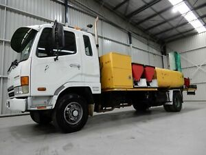 2004 Mitsubishi Fighter Water Tanker Bell Park Geelong City Preview
