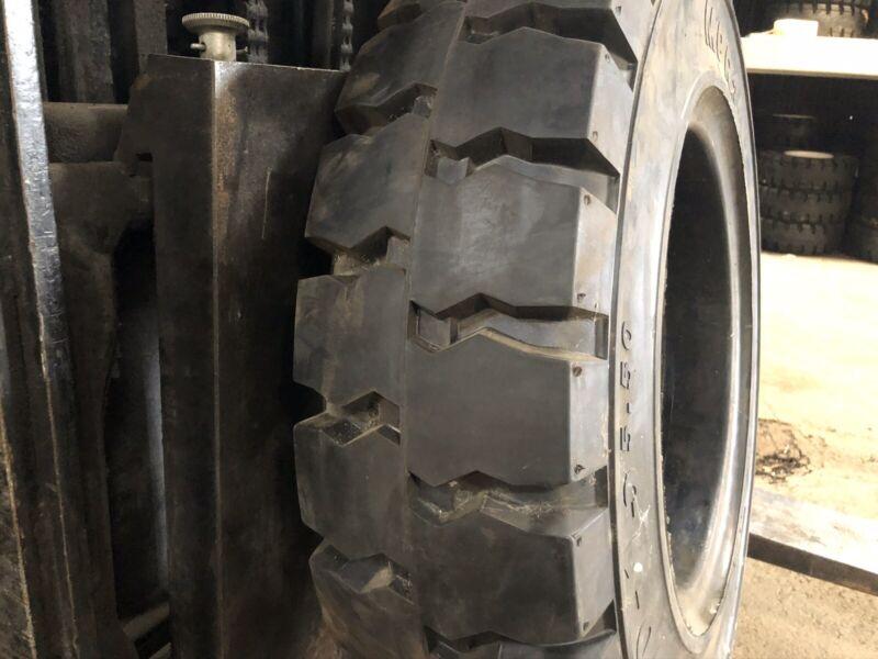 700-15 MITL Solid Pneumatic Tire Rim Size 5.50 Forklift NashFuel