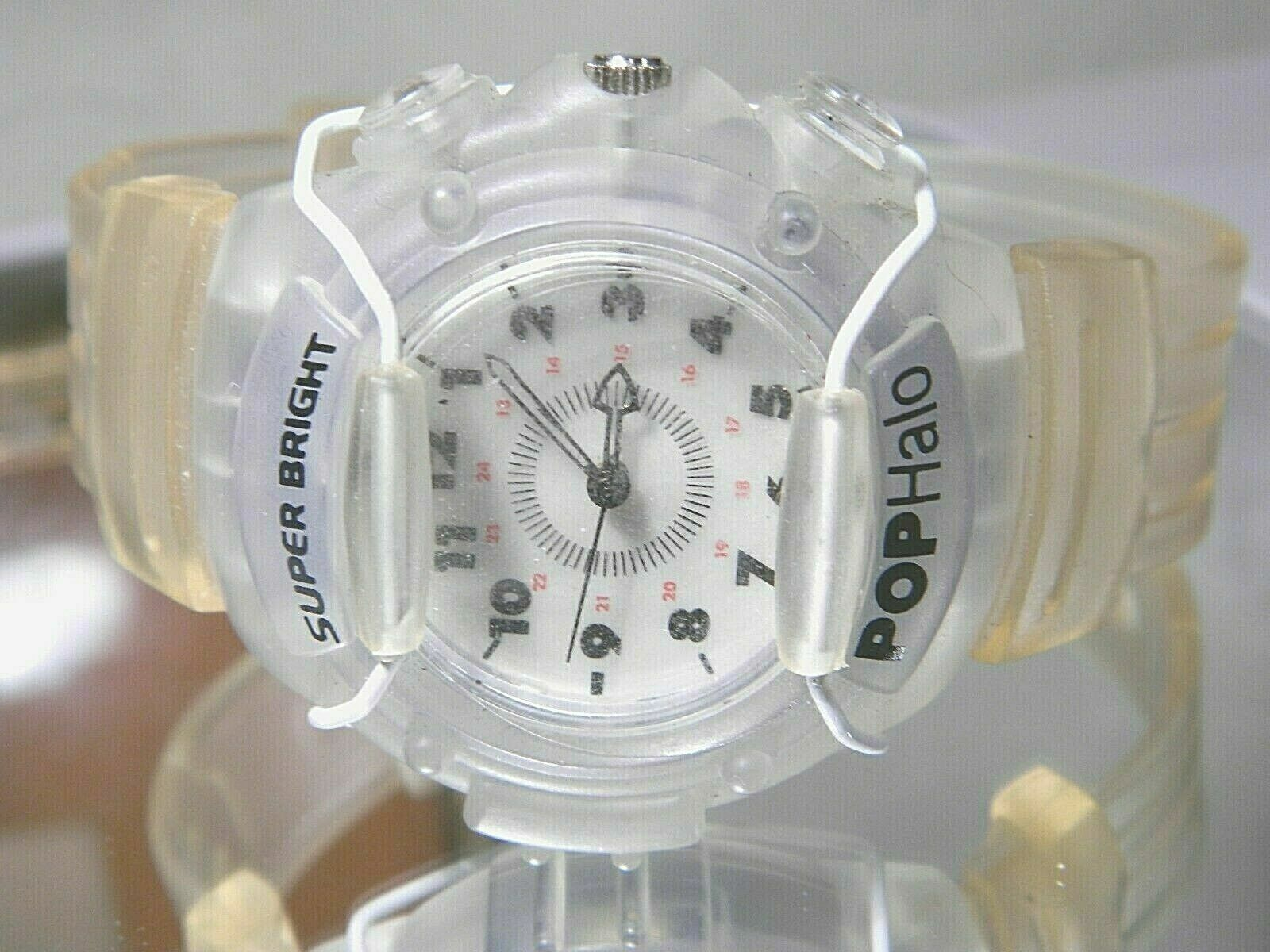 NIB Pop Halo Light Machine Party Watch Wicked Rave Approved