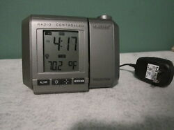 La Crosse Technology Radio Controlled Projection Clock WT-5360U Snooze Alarm