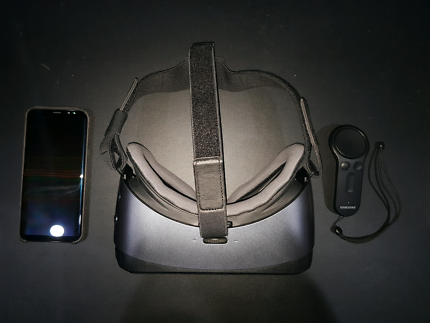 Samsung Galaxy s8+ 64GB Black Great Condition + Samsung VR