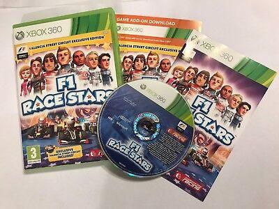 XBOX 360 GAME F1 RACE STARS +BOX & INSTRUCTIONS COMPLETE Inc' VALENCIA DLC PAL comprar usado  Enviando para Brazil