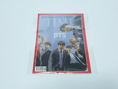 BTS Time Magazine 2018 October with Tracking
