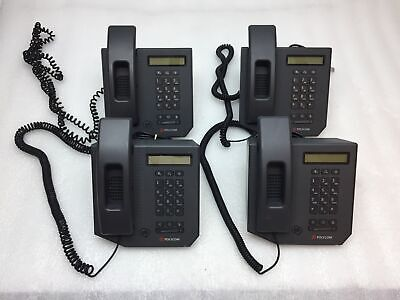 Lot Of 4 Polycom Cx300 Usb Voip Desktop Microsoft Teams - Tested And Working